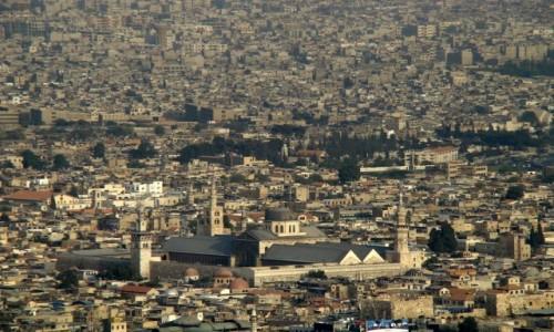 SYRIA / pd-zach Syria / Damaszek / Nie ma gdzie szpilki wcisn��...