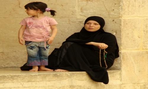 SYRIA / pd-zach Syria / Damaszek / Na dziedzi�cu Wielkiego Meczetu