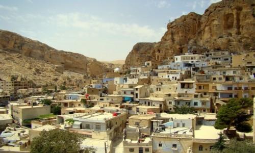 Zdjecie SYRIA / u podnóża gór Antyliban / Malula / Tu jeszcze mówi się po aramejsku
