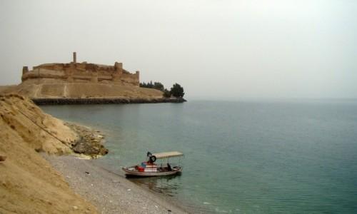 Zdjęcie SYRIA / Północna Syria / jezioro Al-Asad / Kalat Dżabir