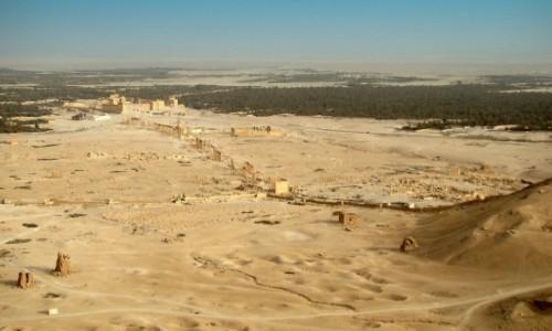 Zdjęcie SYRIA / Pustynia Syryjska / Palmyra / Palmyra-teren wykopalisk (2009)