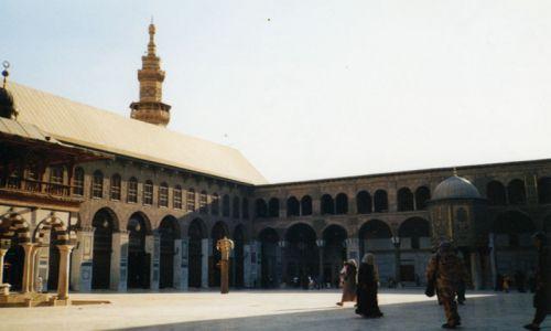 Zdjecie SYRIA / brak / Damaszek / Meczet Ommajadów