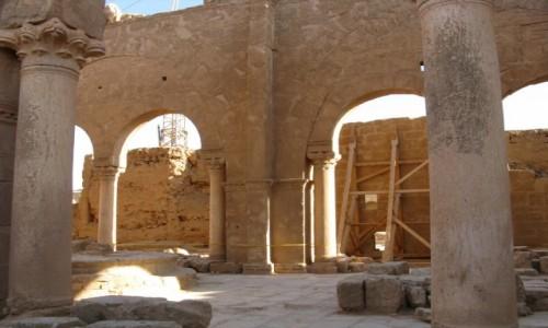 Zdjecie SYRIA / p�noc pustyni Syryjskiej / Rusafa, Alabastrowe miasto / Katedra �w Serg