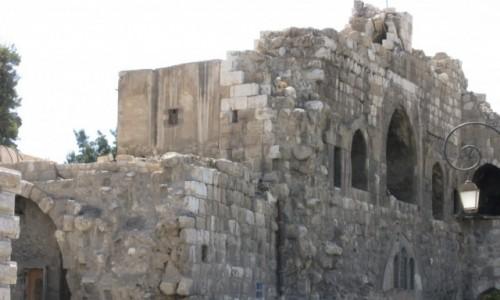 Zdjecie SYRIA / - / Damaszek / Mury Damaszku