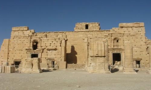 Zdjecie SYRIA / - / Palmyra / Palmyra