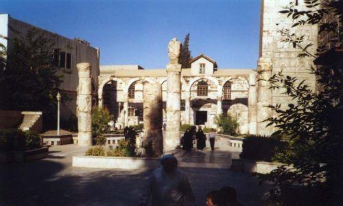 Zdjecie SYRIA / brak / Damaszek / Ruiny świątyni Jowisza