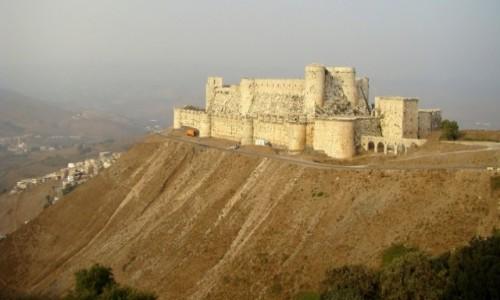 Zdjecie SYRIA / zachodnia Syria / góry  Dżabal an-Nusajrijja / Krak des Chevaliers