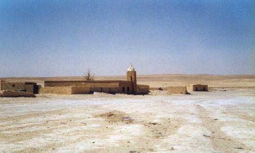 Zdjecie SYRIA / Pustynia syryjska / brak / Beduińska wioska