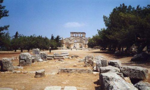 Zdjecie SYRIA / brak / brak / Bazylika św. Szymona Słupnika