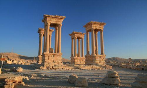 Zdjecie SYRIA / brak / Palmyra / Palmyra o poran