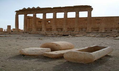 Zdjęcie SYRIA / brak / Palmyra / Palmyra - Temple of Bel