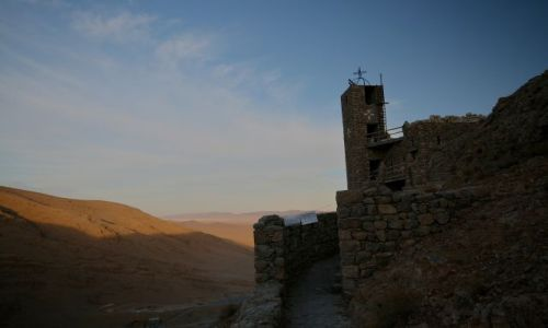 Zdjecie SYRIA / gory qalamoun / mar musa / monastyr mar musa w gorach qalamoun