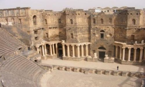 Zdjecie SYRIA / brak / Bosra / Amfiteatr