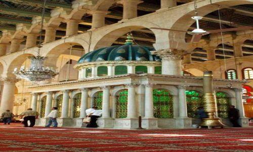 Zdjecie SYRIA / brak / Damaszek / Mauzoleum proroka Jahji (Jan Chrzciciel)