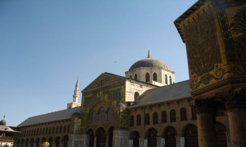 Zdjecie SYRIA / brak / Damaszek / Meczet Umajjadów