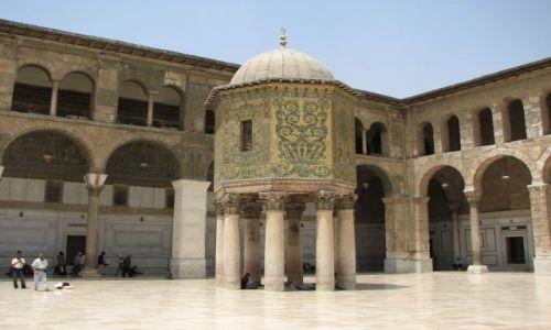 SYRIA / - / Damaszek / w meczecie Umajjadów