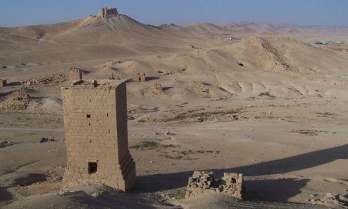 Zdjecie SYRIA / Tadmor / Palmira / Dolina Umarłych