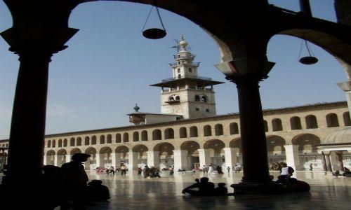 Zdjęcie SYRIA / Damaszek / Damaszek / W Meczecie Ummajadów