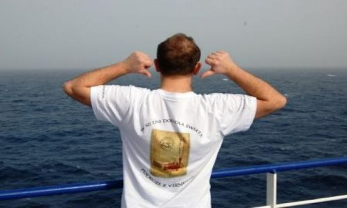 SYRIA / - / Morze Śródziemne / Pokład promu Visemar One