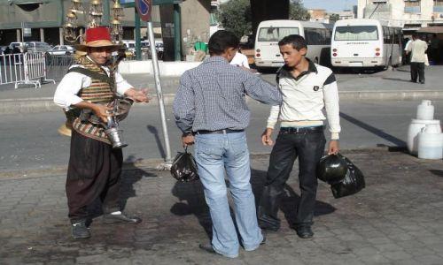 Zdjęcie SYRIA / Damaszek / Damaszek / Sprzedawca wody