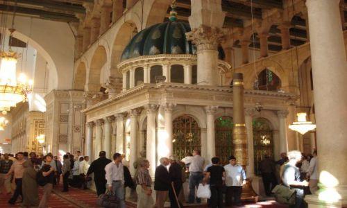 Zdjęcie SYRIA / Damaszek / Damaszek - Stare Miasto / Grobowiec