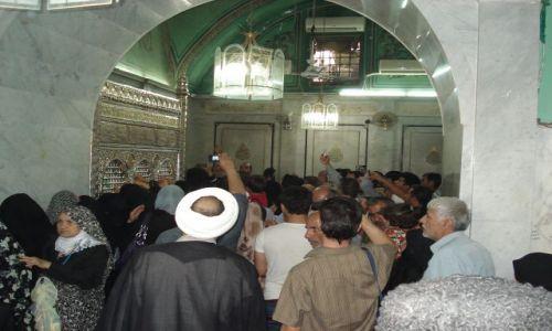 Zdjęcie SYRIA / Damaszek / Damaszek - Stare Miasto / Pielgrzymka irańska