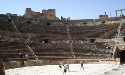 Zdjecie SYRIA / Prowincja Daraa / Bosra / Teatr - siedzenia