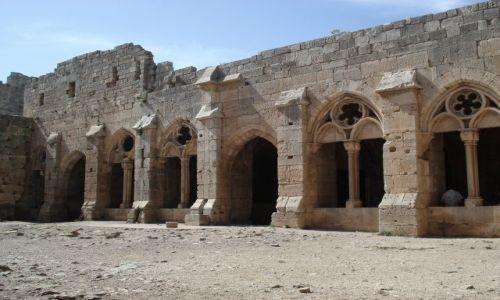 SYRIA / Homs / Krak des Chevaliers / Krak - dziedziniec