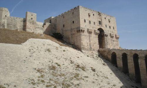 Zdjecie SYRIA / Aleppo / Aleppo - Stare Miasto / Twierdza