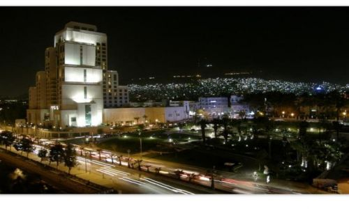 Zdjecie SYRIA / Syria / Damaszek / Damaszek nocą