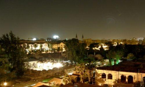 Zdjecie SYRIA / Syria / Damaszek / mathaw noca