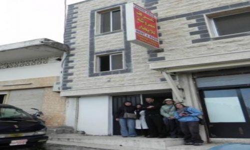 SYRIA / Homs / Crack de Chevaliers / Hotel Jana Pawła II