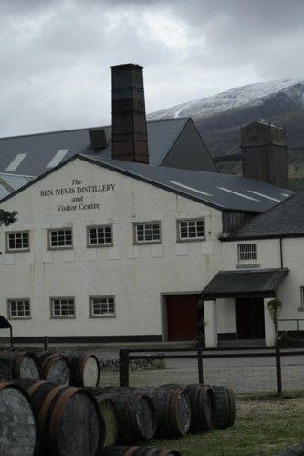 Zdj�cia: Fort William, Highland, Destylatornia Whisky Ben Nevis , SZKOCJA