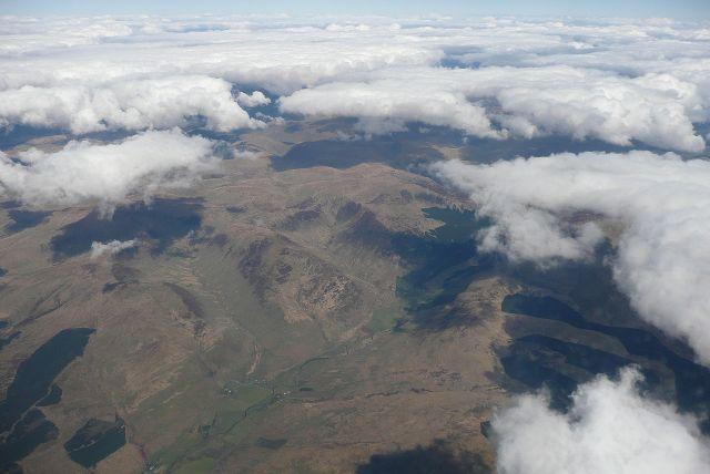 Zdjęcia: jeszcze nad chmurami, okolice Glasgow, Nad wzgórzami południowej Szkocji, SZKOCJA