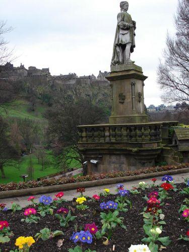 Zdj�cia: Park w centrum, Edinburgh, SZKOCJA