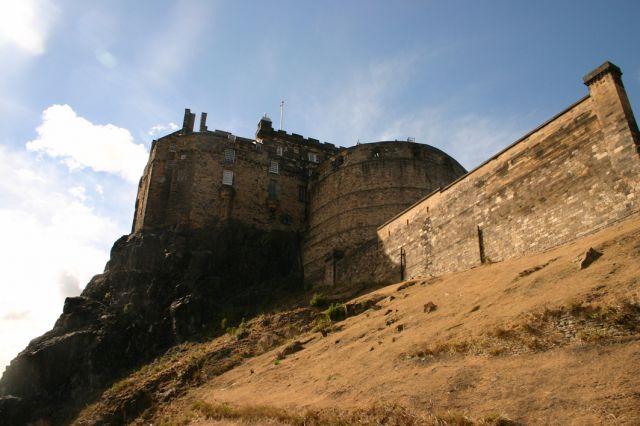 Zdj�cia: Edynburg, Edynburg, Edinburgh castle, SZKOCJA