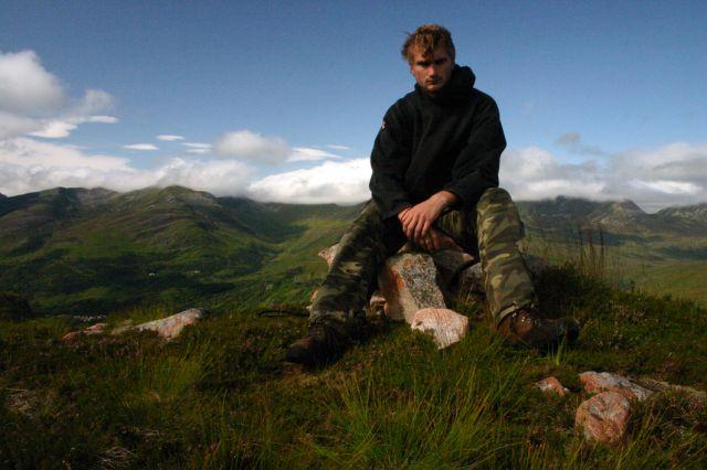 Zdjęcia: Maell Ruigh a' Bhricleathaid, Glen Coe, Na szczycie, SZKOCJA