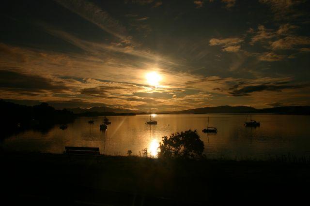 Zdjęcia: Oban, Oban, Zachód słońca, SZKOCJA
