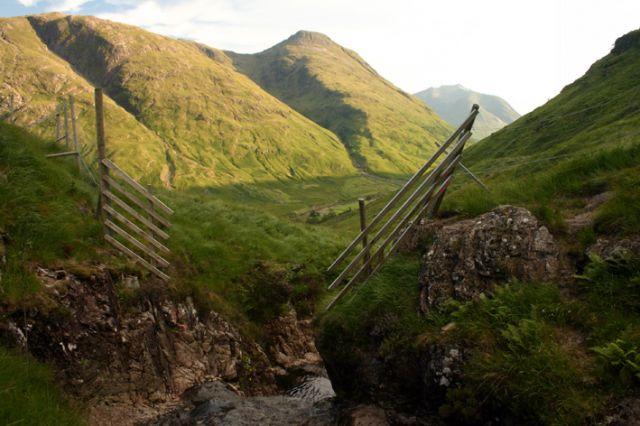 Zdjęcia: U stóp Stob Dubh, Glen Coe, Dolina, SZKOCJA