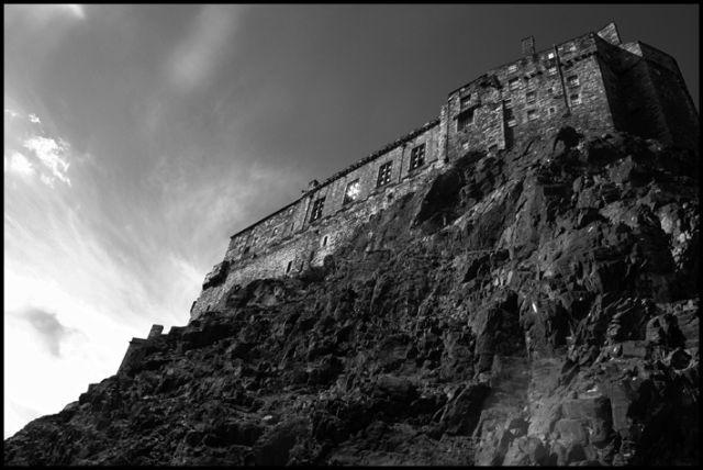 Zdjęcia: Pod zamkiem, Edynburg, Edinburgh castle, SZKOCJA