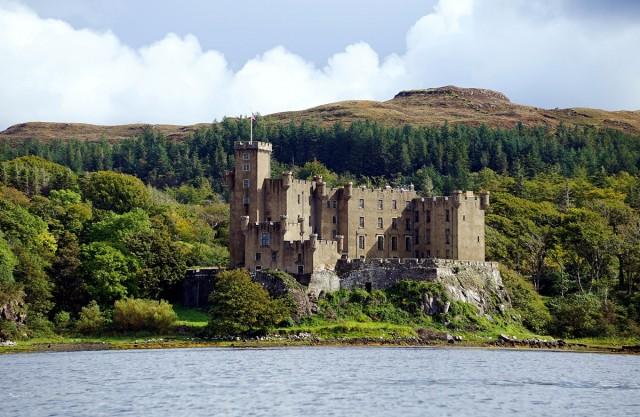 Zdjęcia:  Dunvegan, Wyspa Skye, Zamek, SZKOCJA