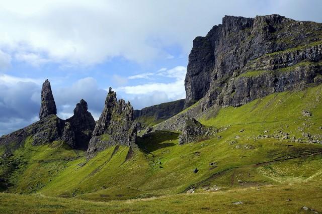Zdjęcia: Wyspa Skye, Hebrydy Wewnętrzne, Wzgórze Storr, SZKOCJA