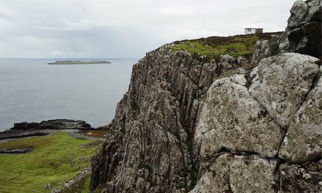 Zdjęcia: Duntulum, Wyspa Skye, The Lookout bothy, SZKOCJA