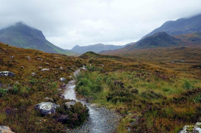 Zdjęcia: Góry Quiraing, Wyspa Skye, Mgliste i dżdżyste piękno, SZKOCJA
