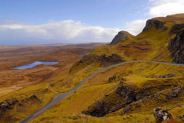 Zdjęcia: Wyspa Skye, Prawie jak ksiezyc - tylko, ze kolorowo ;), SZKOCJA