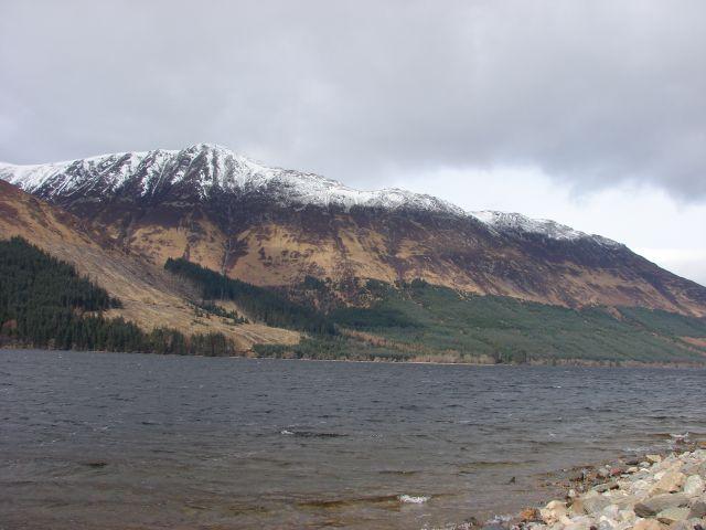Zdjęcia:  droga A-82, higland, w drodze nad Loch Ness, SZKOCJA