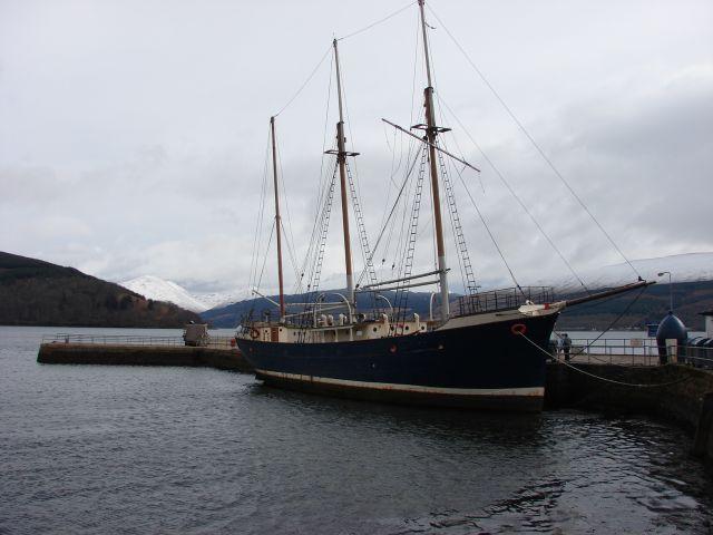 Zdjęcia: Inverary   - Loch Shira, higland, odpoczynek w porcie, SZKOCJA