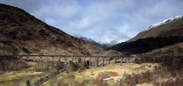 Zdjęcia: Glenfinnan, Glenfinnan Viaduct, SZKOCJA