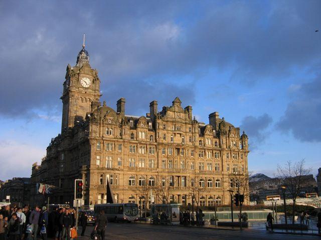 Zdj�cia: Edinburgh,  Balmoral Hotel, SZKOCJA