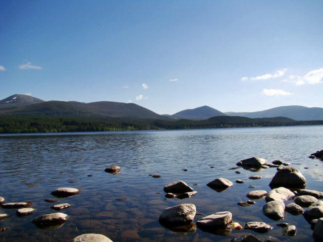 Zdjęcia: Loch Morlich, Cairngorms Mountains, dwa dni w Szkocji, SZKOCJA